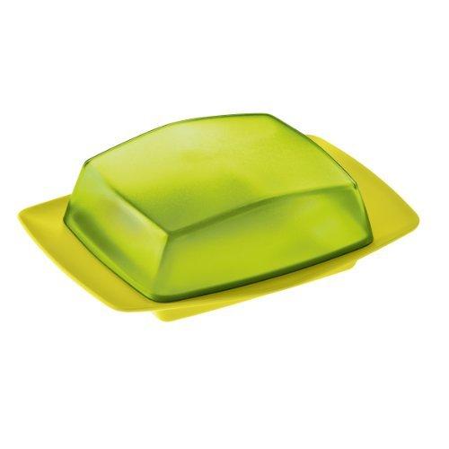 koziol butterdose rio kunststoff senfgruen mit transparent olivgruen 12 1 x 17 5 x 5 8 cm - Koziol Butterdose Rio, Kunststoff, senfgrün mit transparent olivgrün, 12.1 x 17.5 x 5.8 cm