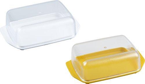 fackelmann 47112 butterdose retro farblich sortiert - Fackelmann 47112 Butterdose Retro, farblich sortiert