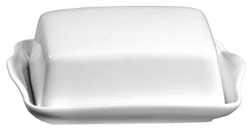 ritzenhoff breker 019490 butterdose bianco aus porzellan weiss - Ritzenhoff & Breker 019490 Butterdose Bianco aus Porzellan, weiß